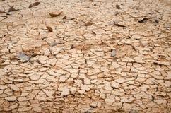 Cracked ground backgroun, dry land Royalty Free Stock Image