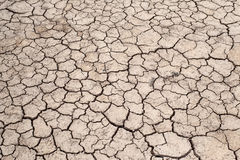 Cracked Ground, Crecked Texture Royalty Free Stock Photography
