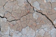 Cracked ground drought. Land eath stock image
