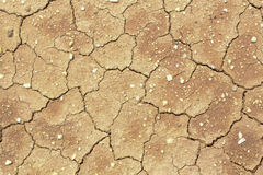 The cracked ground, Ground in drought, Soil texture and dry mud, Royalty Free Stock Photos