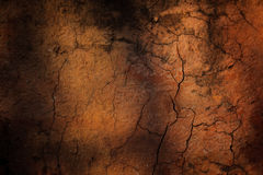 The cracked ground,  Soil texture and dry mud Stock Images