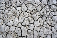 Cracked ground texture Royalty Free Stock Image