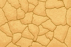 CRACKED GROUND TEXTURE. Background rendering a barren land from a top view Royalty Free Stock Photography
