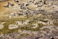 Cracked ground texture Stock Photos