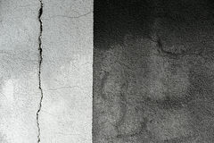Cracked grunge cement wall Royalty Free Stock Photos