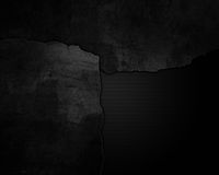 Cracked grunge and metal background Stock Images