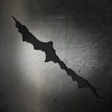 Cracked grunge metal background Royalty Free Stock Photos