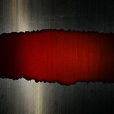 Cracked grunge metal and leather background Stock Photo