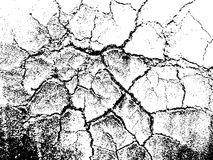 Cracked grunge texture Royalty Free Stock Images