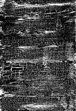 Cracked Grunge Texture. Weathered Messy Background. Black And White. Vector. Royalty Free Stock Photography