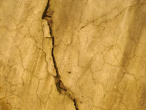 Cracked grunge wall Royalty Free Stock Photography