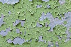 Cracked grunge wall Stock Image