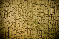 Cracked grungy vignette paint effect Royalty Free Stock Photography