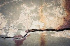 Cracked hårdnar texturerar Arkivfoto