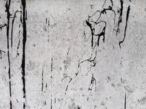 Cracked hårdnar texturerar Kan användas som en vykort Arkivfoto