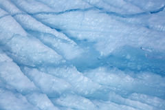 Cracked ice Stock Images