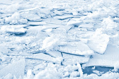Cracked ice background. White cracked frosted ice background Royalty Free Stock Photo