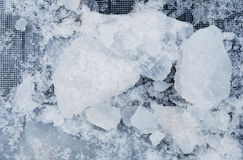 Cracked Ice Stock Photography