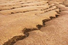 Cracked land Stock Photo