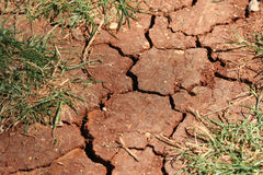Cracked land Royalty Free Stock Photo