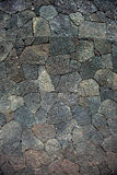 Cracked lava rock texture Royalty Free Stock Photography