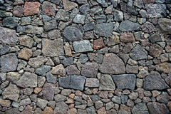 Cracked lava rock texture Stock Photography