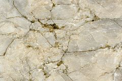 Cracked Marble Texture Close-Up Stock Photos
