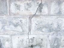 Cracked marble wall texture background. Stock Images