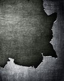 Cracked metal background Stock Photography
