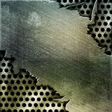 Cracked  metal background Royalty Free Stock Photo