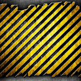 Cracked metal stripe background Royalty Free Stock Photos
