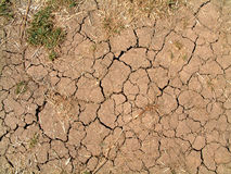 Cracked Mud. This is some dried mud that has cracked into a interesting pattern royalty free stock photography