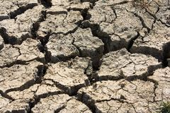 Cracked Mud, Cuckmere Haven, East Sussex, UK stock images