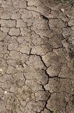 Cracked Mud or Dirt used as a Background Stock Photo