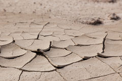 Cracked Mud Layers Royalty Free Stock Photography