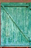 Cracked old door Royalty Free Stock Image
