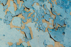 Cracked old paint background. Cracked old blue paint background Stock Photography