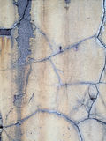 A Cracked Old Stucco Wall Royalty Free Stock Photo