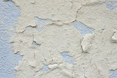 Cracked old Wall Detail Background Texture For Text Or Image. Abstract background, old cracked plaster wall Stock Photo