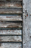 Cracked old window shutters Stock Images