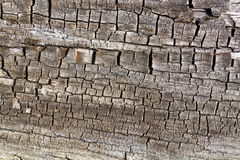 Cracked Old Wood Texture Background Stock Image
