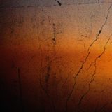 Cracked orange vintage background Royalty Free Stock Photos