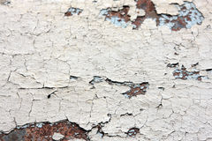 Cracked paint background texture Stock Image