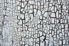 Cracked paint background Royalty Free Stock Images