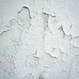 Cracked paint on concrete surface - vintage photo. Stock Photos