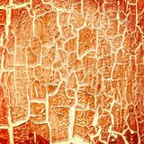 Cracked paint on the concrete wall. Illustration vector illustration