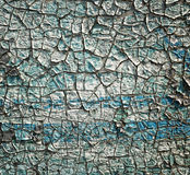 Cracked paint layers Royalty Free Stock Image
