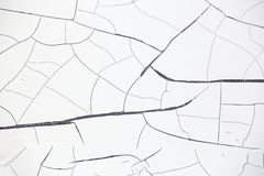 Cracked paint Stock Image