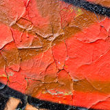 Cracked paint texture Royalty Free Stock Photo
