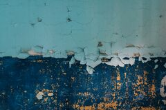 Cracked Paint Texture Royalty Free Stock Image